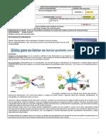 Guía No.01 III Período Español Octavo Mapa Mental y MMC