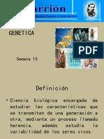 Semana 15 y 16. Genetica