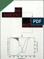 Thermal Analysis of Materials - Marcel Dekker