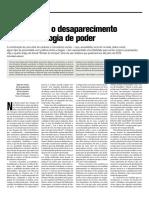 Texto Fazer Sumir Estado de Choque Fabio Araujo