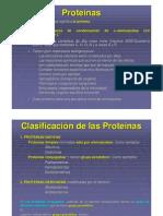 Clase 1 - Proteínas