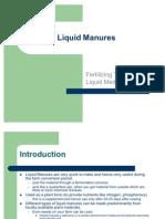Liquid Manures