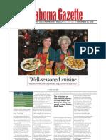 Gazette Article September 2009