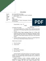 Nota Dinas Perizinan B3