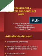 Articulaciones y anatomía funcional del codo (PPTshare)