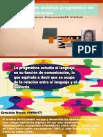 PRAGAMA,MODELO DE ANALISIS PRAGMATICO DE LA COMUNICACION MARIA ESCANDELL