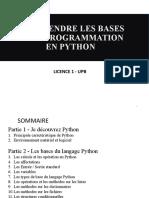 Cours Python Partie UPB