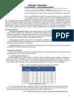 Ficha de Trabalho de Biologia e Geologia - Fermentação Lática