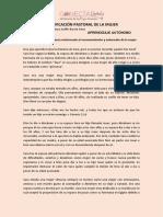 3 APRENDIZAJE AUTÓNOMO 14 junio Enseñanza-signed
