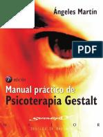 Manual Práctico de Psicoterapia Gestalt 7ed - Ángeles Martín