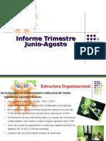 Informe Trimestral CTSD 2008