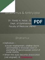 Strabismus & Ambliopia
