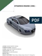 VDE-Vehicle dynamics engine