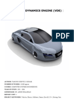 VDE-Vehicle dynamics engine
