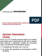 AULA 5-PRINCÍPIOS PROCESSUAIS e o CPC