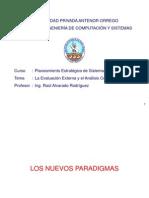 La Evaluación Externa y el Análisis Competitivo