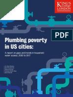 Plumbing Poverty in US Cities