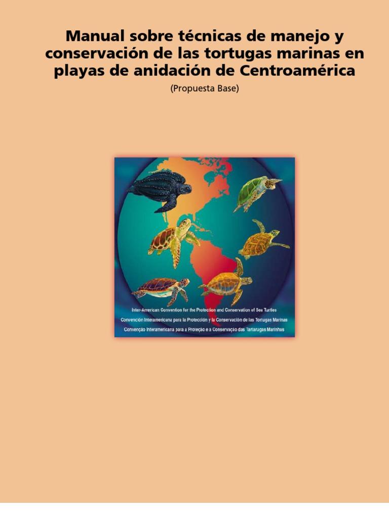 Manual sobre técnicas de manejo y conservación de las tortugas ...
