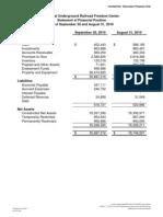 14-NURFC - YTD10 Financial Statements 9-months as of 09-30-2010