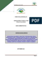 Bases +Tdr Reservorios Para El Riego Tecnificado Rio Grande