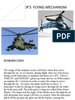 HELICOPTER'S  FLYING MECHANISM