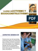 Construtivismo y Sociocontructivismo (1)