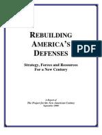 Rebuilding Americas Defenses PNAC