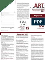 reglement 2011 rouge cloitre