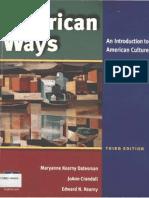 American Ways - 3rd Edition