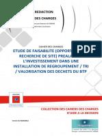 Etude Faisabilite Installation Regroupement Tri Valorisation Dechets Btp