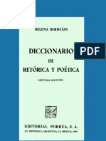 Beristain Helena - Diccionario De Retorica Y Poetica (p1 - 257)