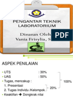 Pengantar Teknik Laboratorium Vania F.,S.Pd