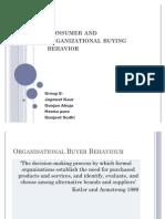Consumer and organizational buying behaviour