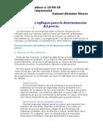 FACTORES EXTERNOS E INTERNOS DE LA NEGOCIACION