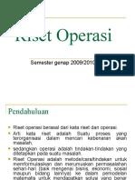 Riset Operasi 1