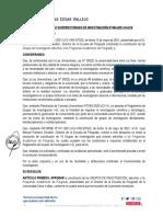RVI N°094-2021-VI-UCV Aprobar la constitución de Grupo de Investigación -  Posgrado