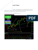 Intraday Trading and Volume