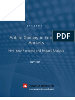 Excerpt Mobile Gaming