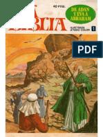 La Biblia de Adan y Eva a Abraham No 01