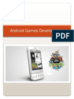 Make Android games within 1 hour.
