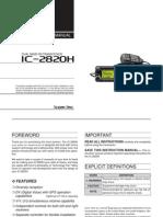 IC-2820HManual