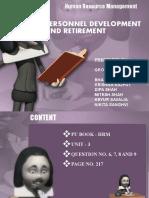Personal Development & Retirement