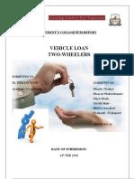 Two Wheeler Loans