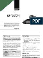 Amateur ID-880H Instruction Manual