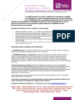 Oferta CONTABILITATE Doctor Finance SRL