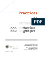 Prácticas de ordenador con wxMaxima