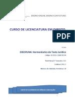 Manual de Hermenêutica e Interpretação do Texto Jurídico