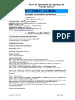 FISPQ - DESINFETANTE AZULIM