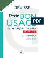 Le Bon Usage de La Française
