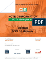 FCTC ENERGIES 5 Note DInformation
